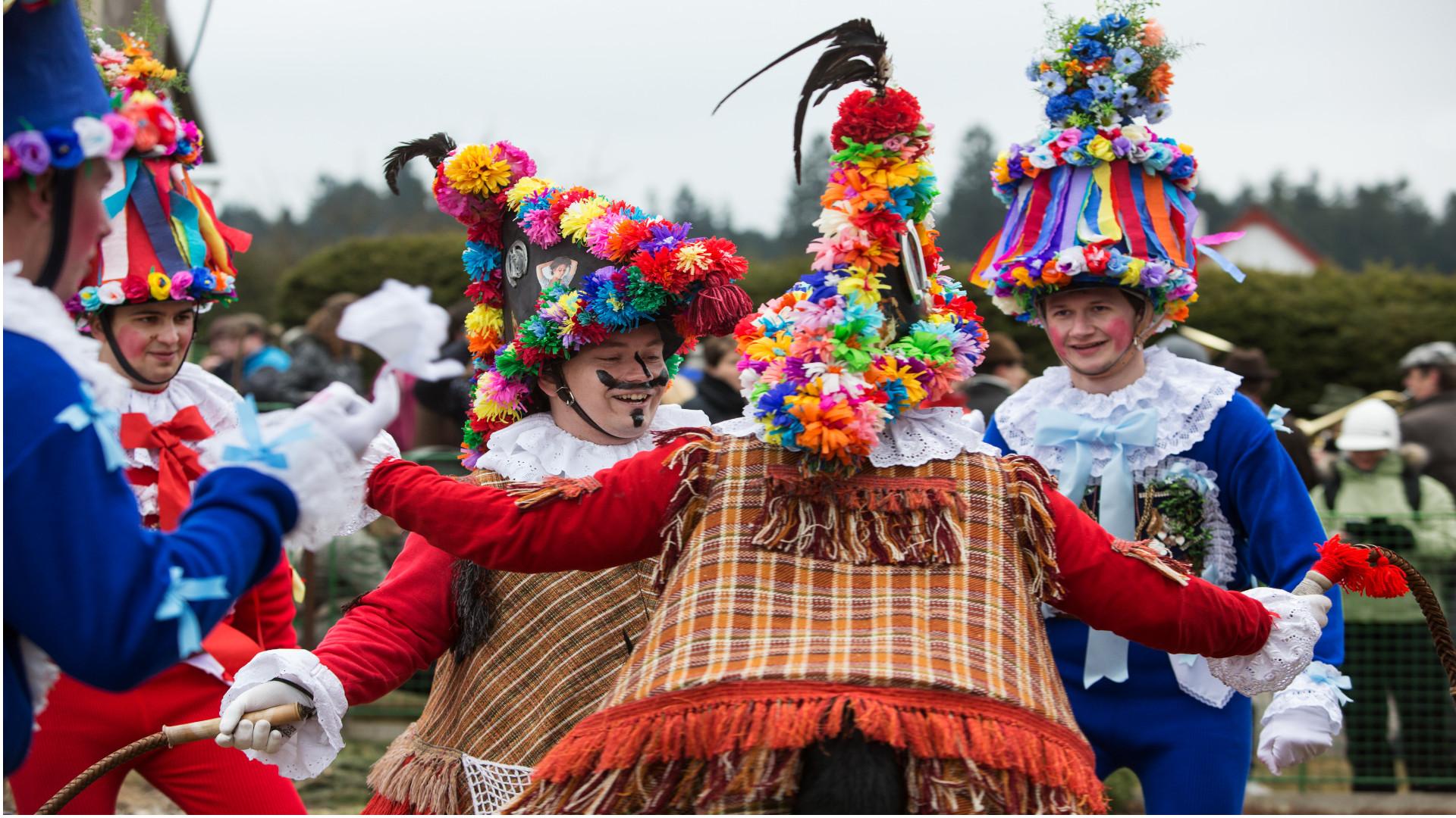 Carnavales en Chequia, una tradición que ha conquistado a la Unesco