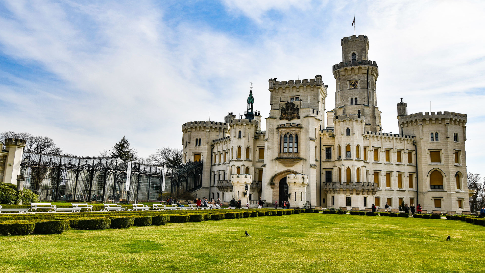 Castillos y palacios: sueños reales