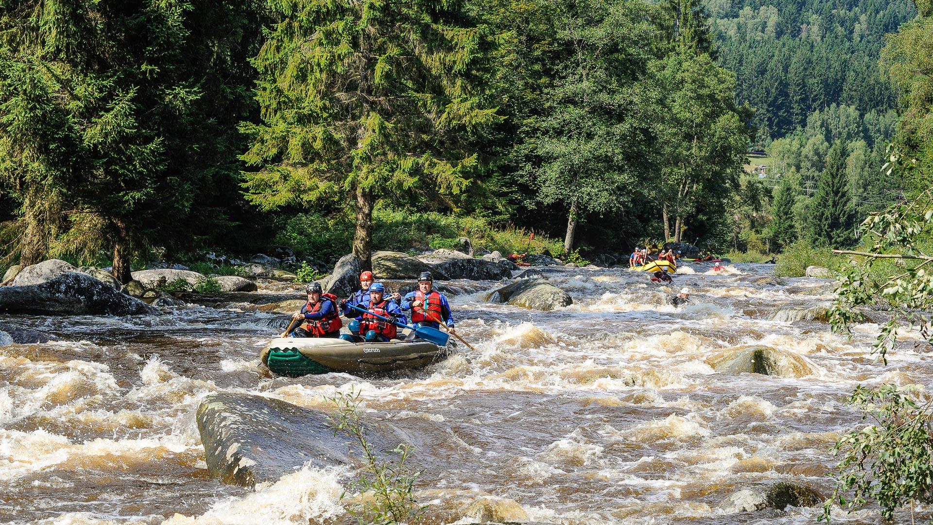 rios bravos en chequia