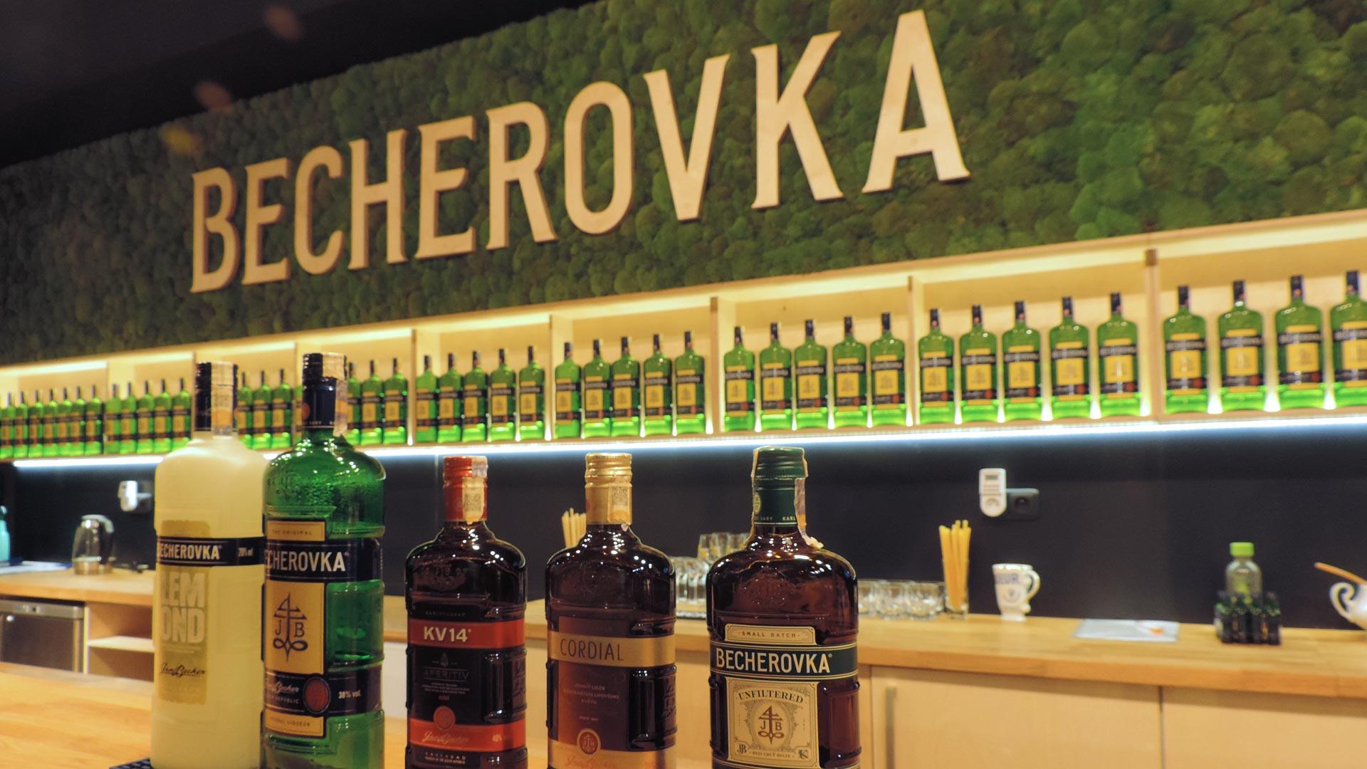 Becherovka, una visita al museo del misterioso elixir de Karlovy Vary