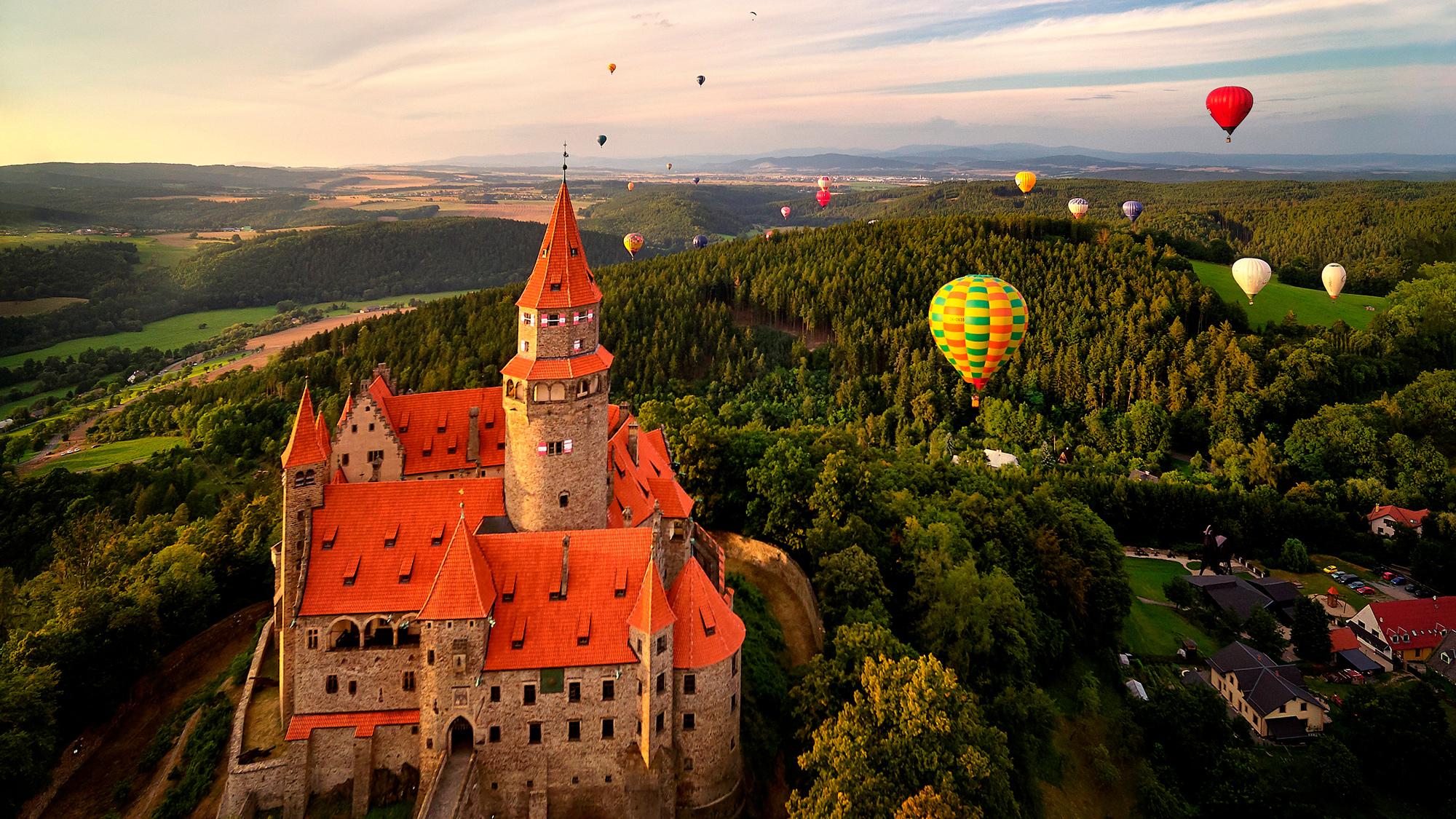 Chequia en globo, una experiencia inolvidable