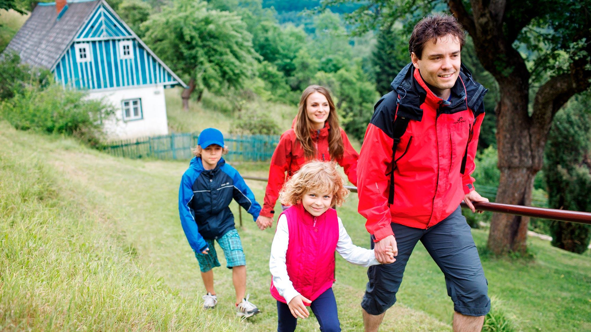 Excursion en familia en Chequia