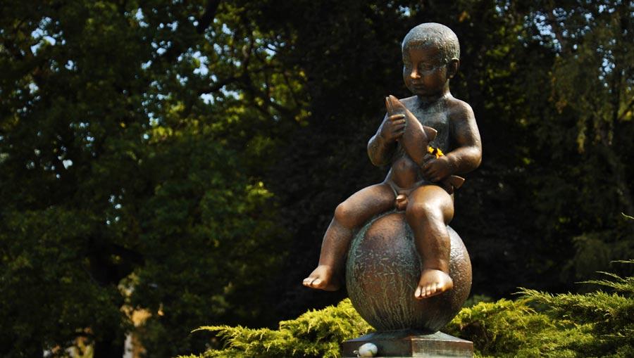 escultura frantiskovy lazne