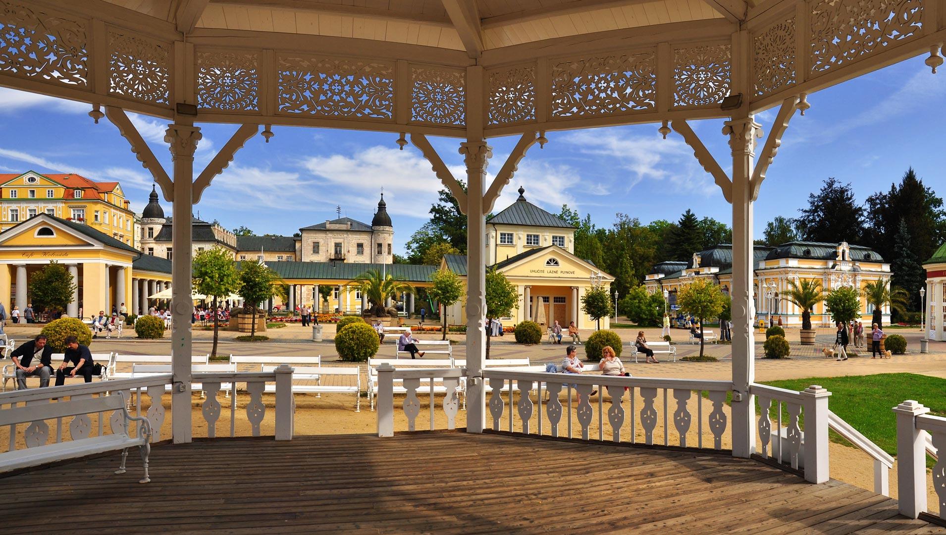 arquitectura frantiskovy lazne balneario chequia