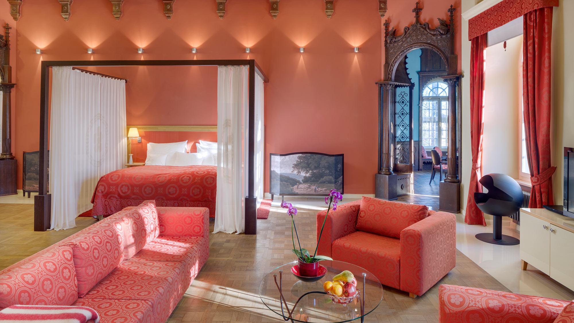Chateau Herálec, un hotel de lujo en la República Checa.