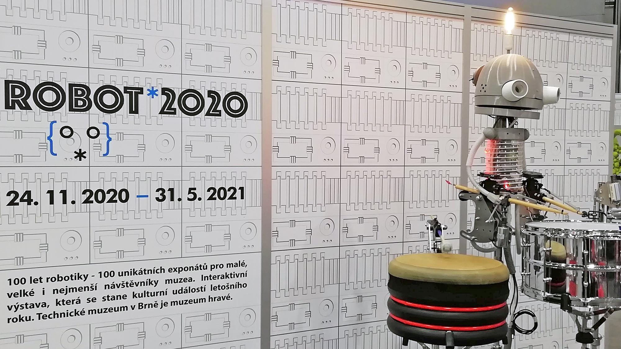 Exposición Robot en Brno