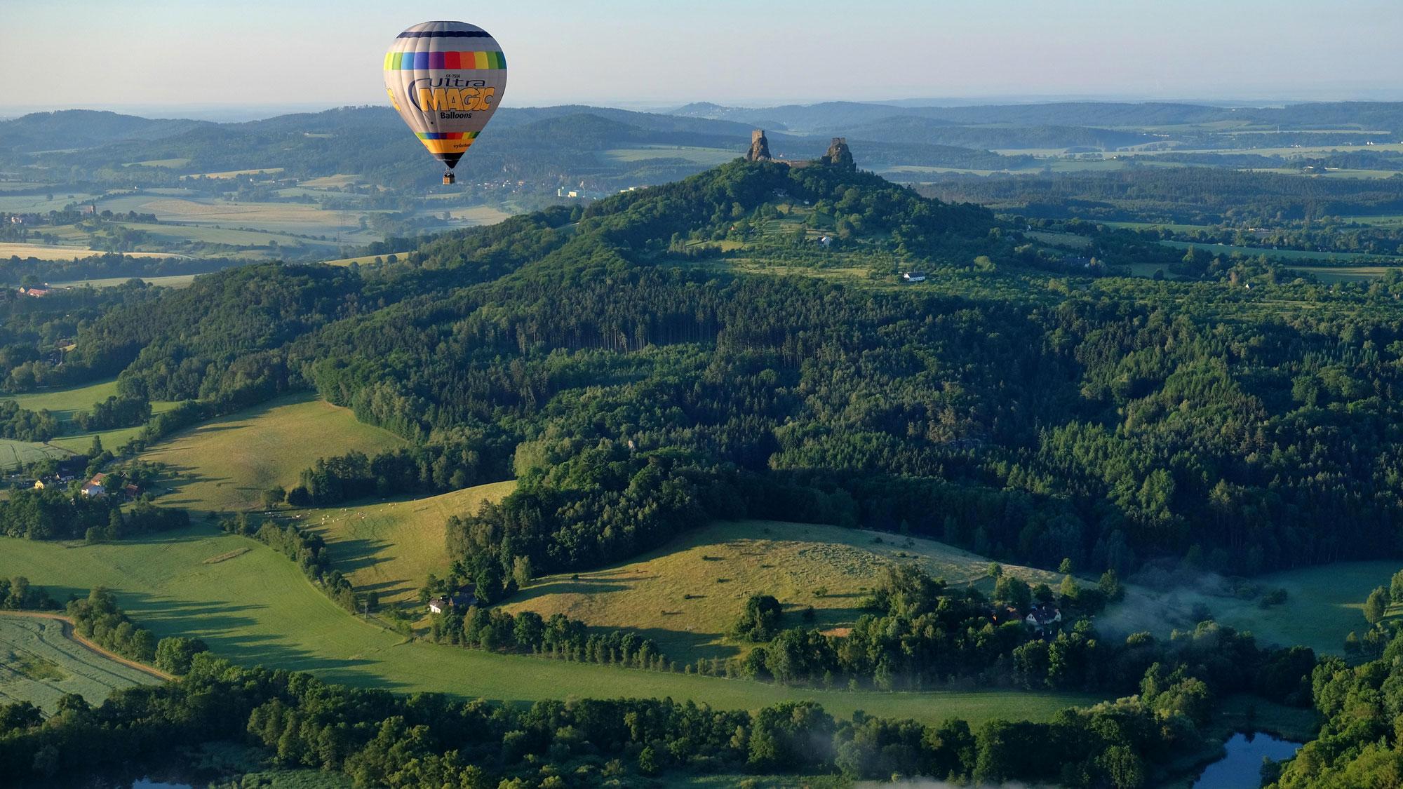 Paraíso de Bohemia en globo