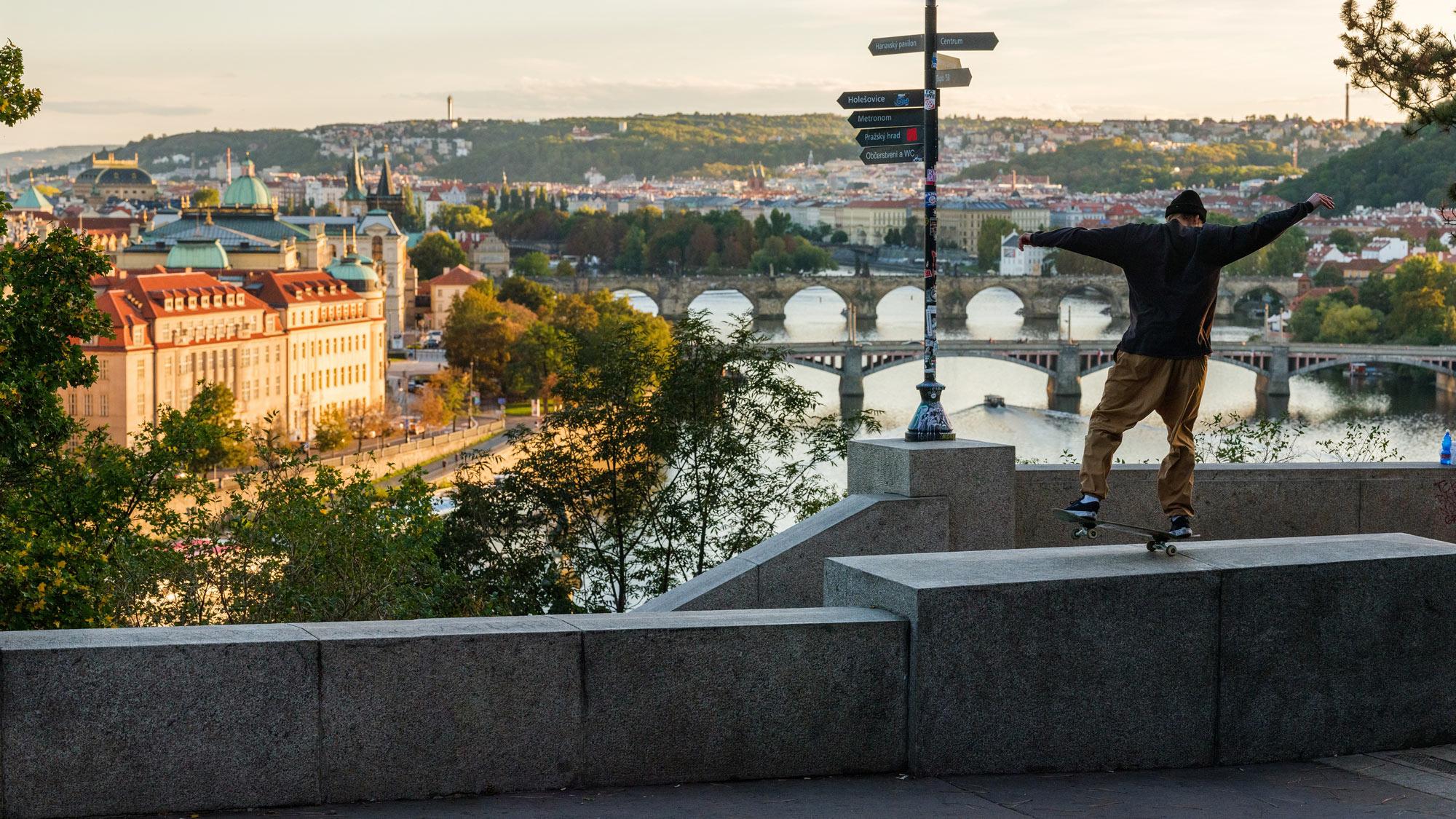 Parque de Letna Praga