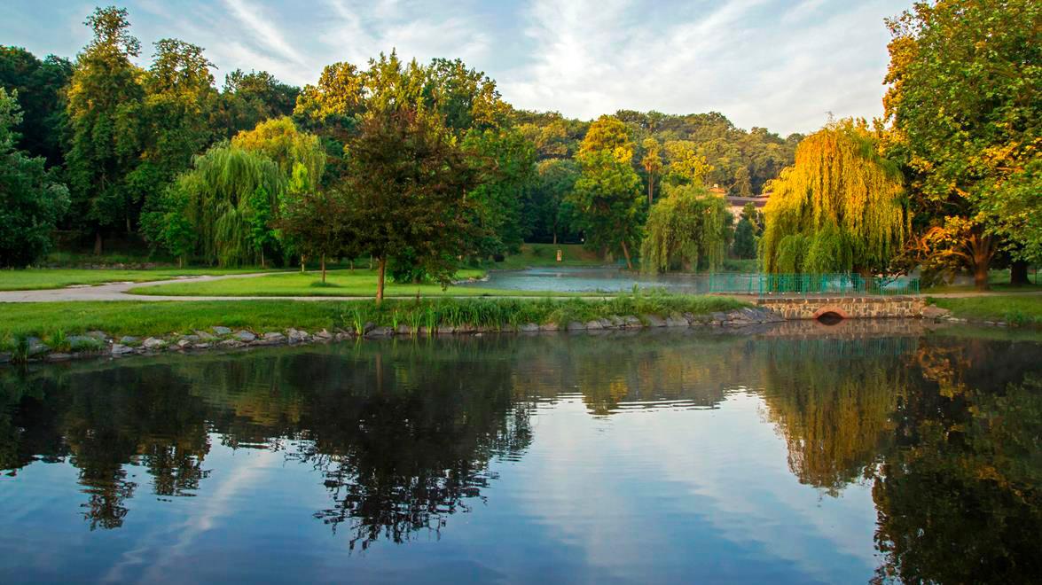Parque de Stromovka Praga
