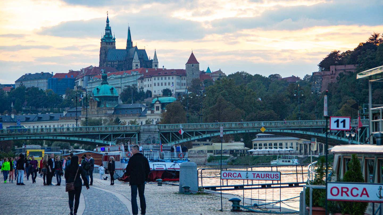 Deixe-se levar pelo Moldava, o maior rio da República Tcheca