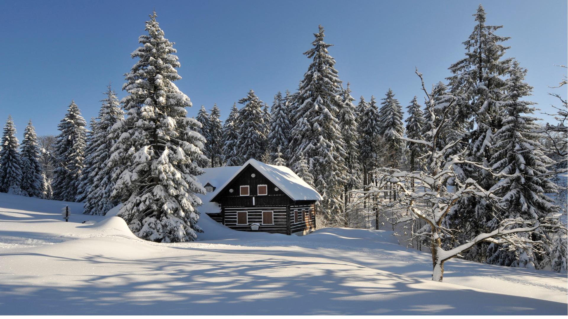 8 paisajes invernales mágicos en la República Checa