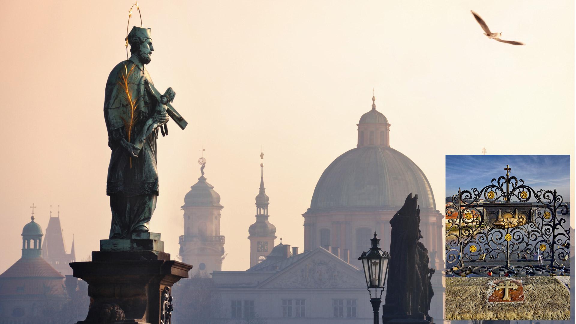 San Juan Nepomuceno, en Praga.
