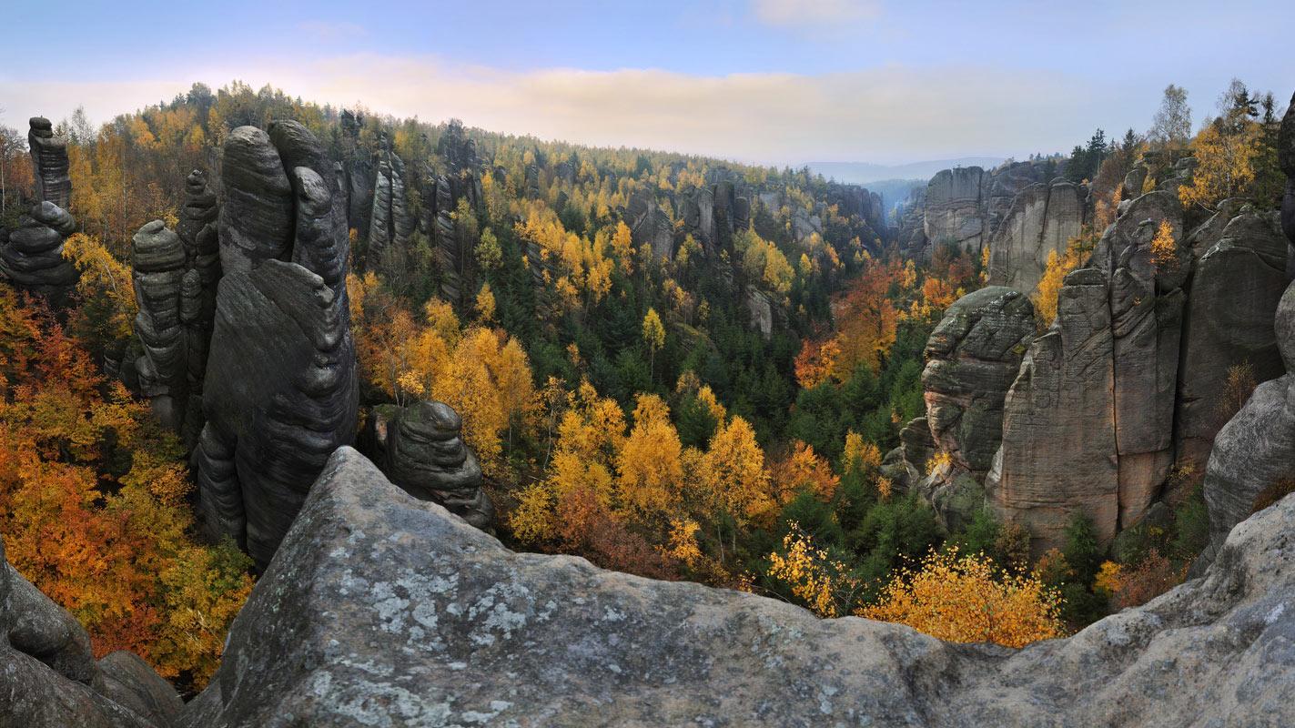 Reserva Natural de Broumovsko.