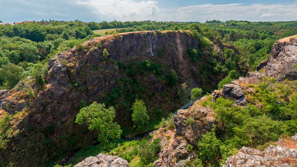Reserva natural Divoka Sarka praga
