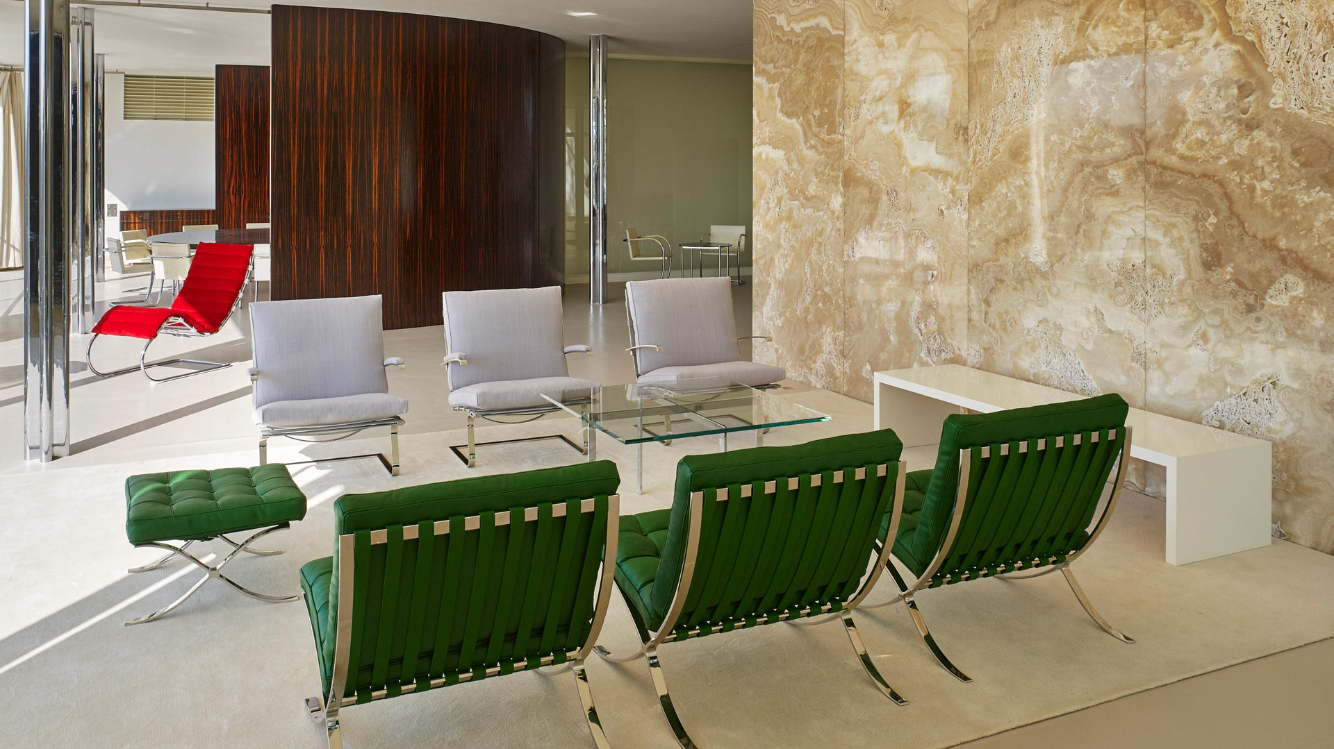 Sala de estar De la Villa Tugendhat.