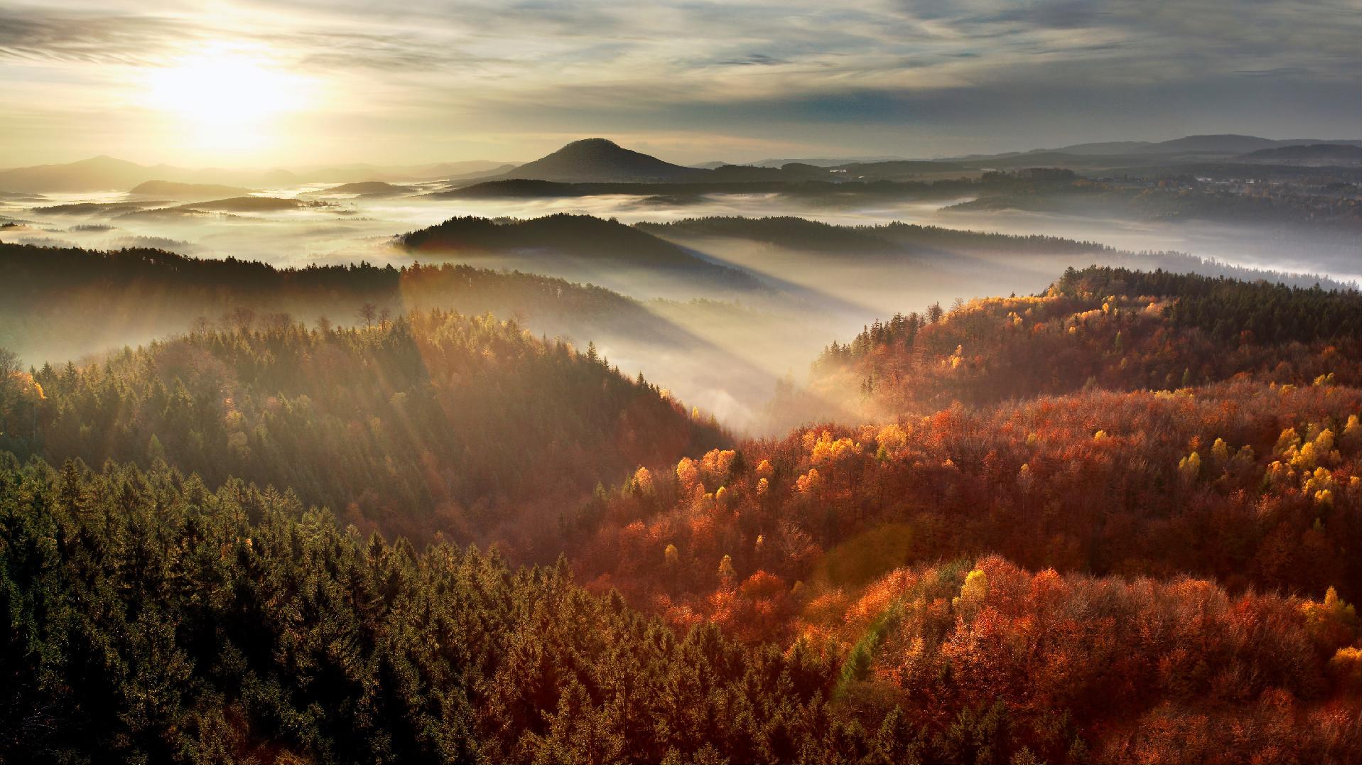 Seis espaços naturais aonde você pode sentir o outono na República Tcheca