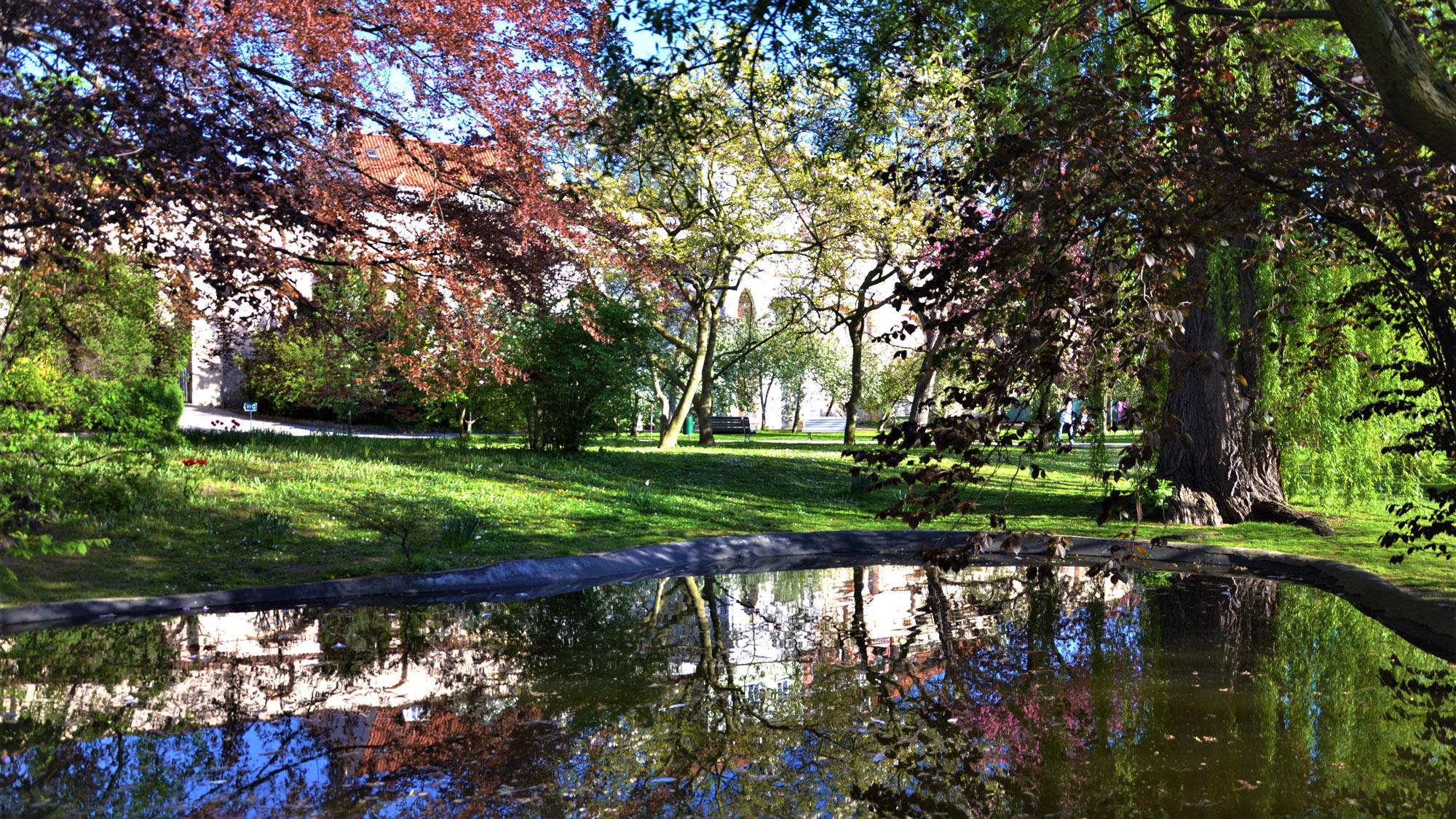 Vojanoy Sady parque de praga